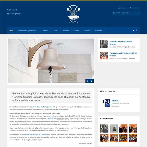 Proyecto Residencia de estudiantes Barrsoso